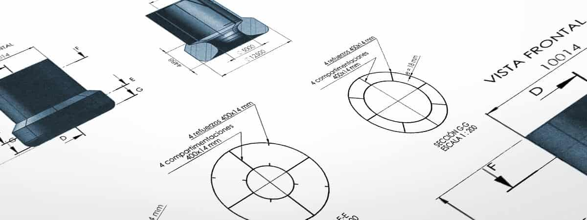Diseño 2D Cabecera Planos